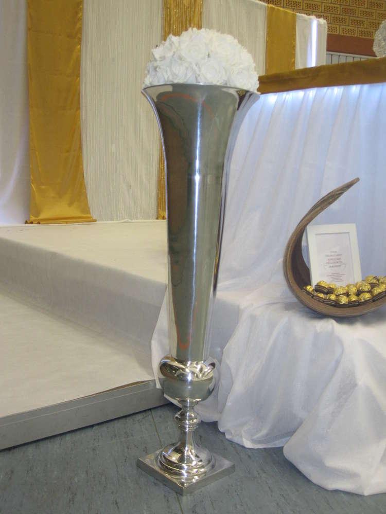 Aluvase Pokal Bodenvase 90 Cm Gross Mieten